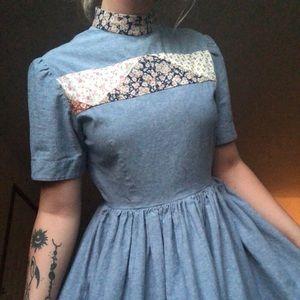 Vintage Quilt Dress